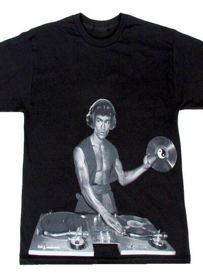 Bruce Lee DJ Adult Black