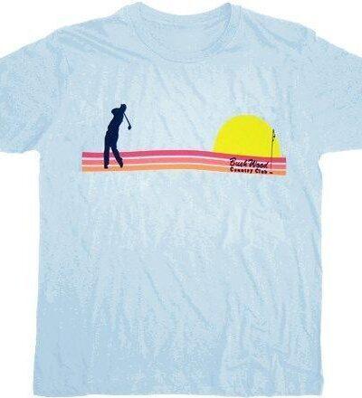 Caddyshack Bushwood Country Club Sunset T-shirt