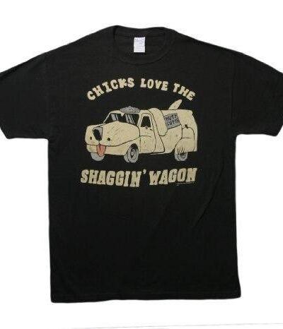 Chicks Love the Shaggin Wagon T-shirt