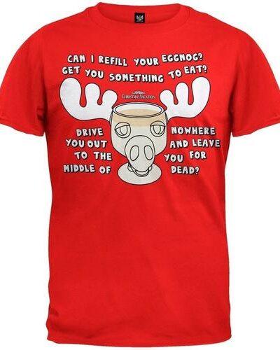 Christmas Vacation Moose Mug T-shirt