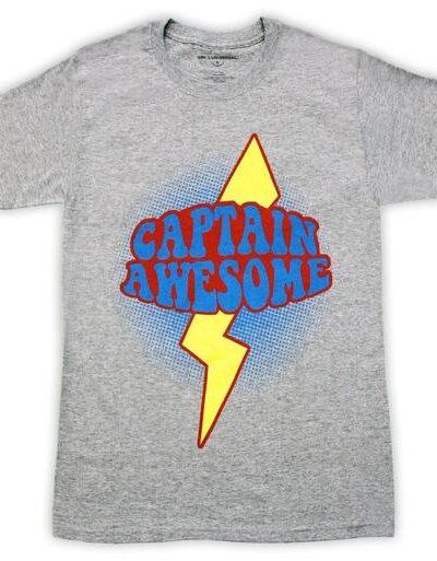 Chuck Devon Captain Awesome Woodcomb T-Shirt