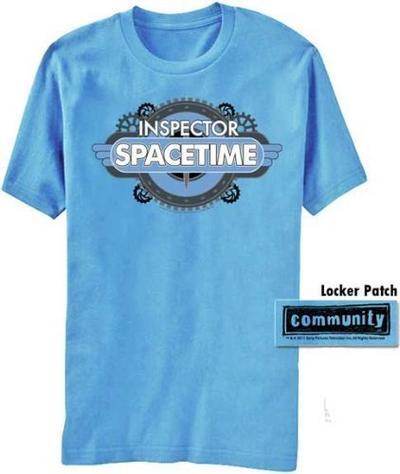 Community Inspector Spacetime T-shirt