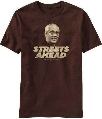 Community Pierce Streets Ahead T-shirt