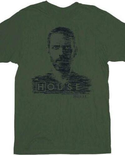 Doctor House Type Face T-Shirt