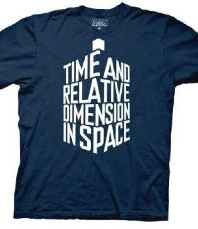 Doctor Who Tardis in Words T-shirt