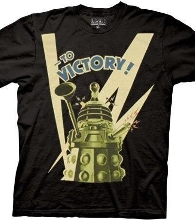 Doctor Who To Victory! T-shirt