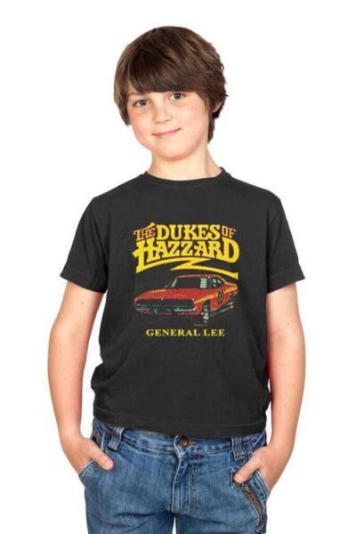 Dukes of Hazzard General Lee Car T-shirt