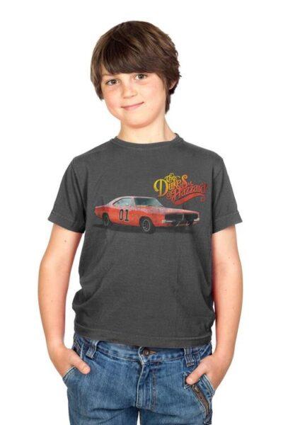 Dukes of Hazzard General Lee Logo T-shirt