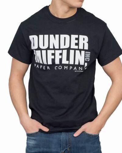 Dunder Mifflin INC Paper Company Logo T-shirt