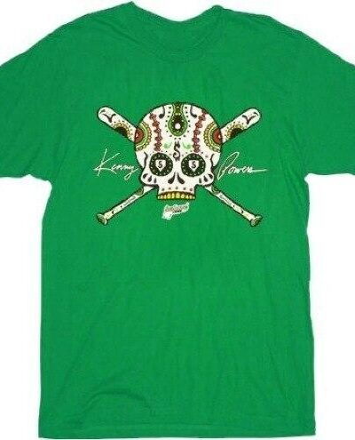 Eastbound & Down Day of the Dead Skull T-shirt