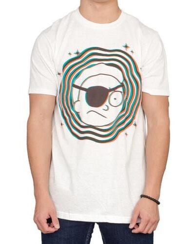 Evil Eye Patch Morty T-Shirt