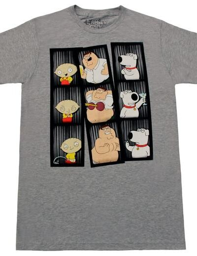 Family Guy Photo Booth Poses T-shirt