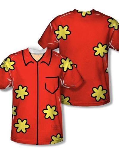 Family Guy Quagmire Adult Sublimation Costume T-Shirt