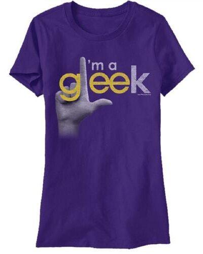 Glee I'm A Gleek Finger T-Shirt