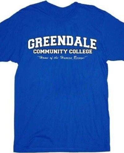 Greendale Community College GCC Human Beings T-shirt