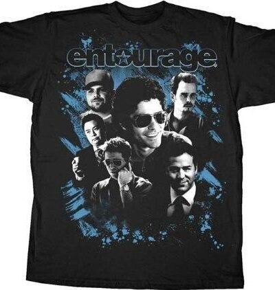 HBO Entourage Character Collage T-Shirt