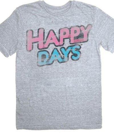 Happy Days Distressed Vintage TV Logo T-shirt