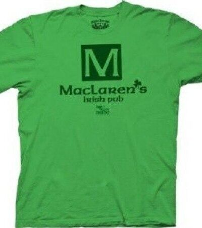 How I Met Your Mother Maclaren's Pub T-shirt