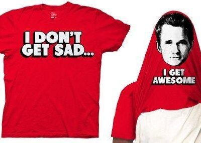 I Don't Get Sad I Get Awesome Flip T-shirt