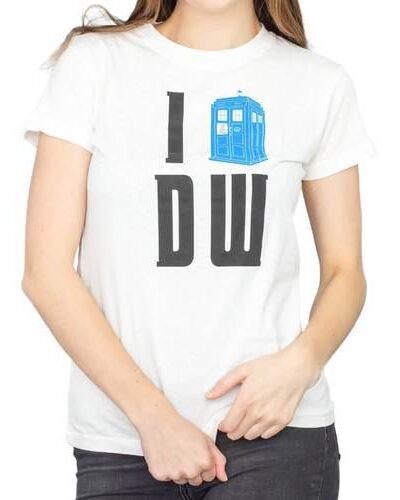 I Heart (Tardis) DW T-shirt