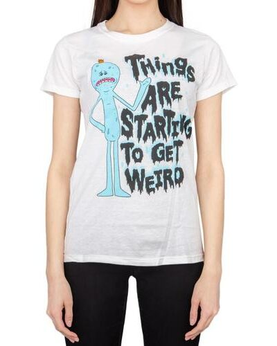 Juniors Things Are Starting To Get Weird T-shirt