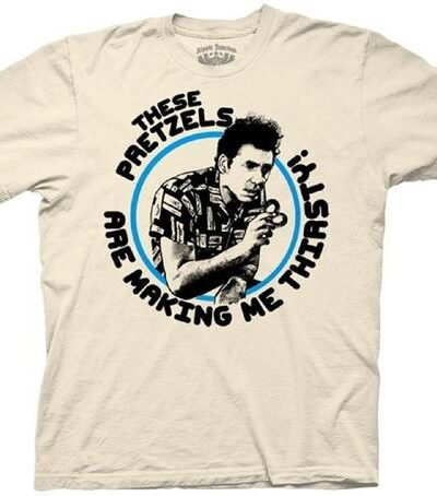 Kramer These Pretzels are Making Me Thirsty T-shirt