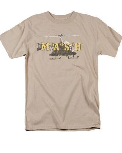 MASH Distressed Chopper T-Shirt