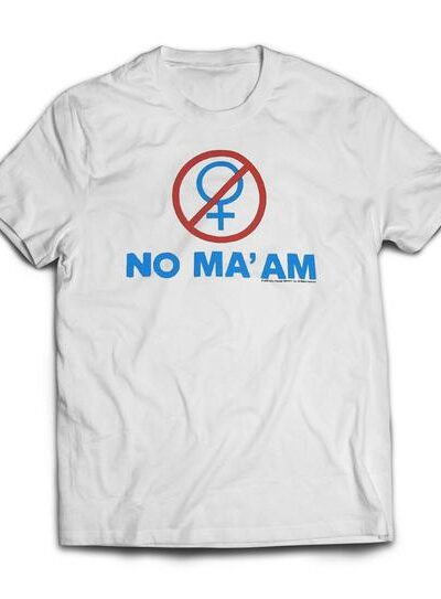 Married with Children NO MA'AM T-shirt