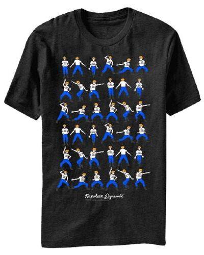 Napoleon Dynamite Dance Moves Adult Black T-Shirt