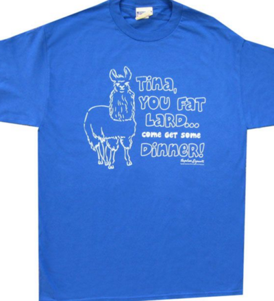 Napoleon Dynamite Tina Fat Lard T-shirt