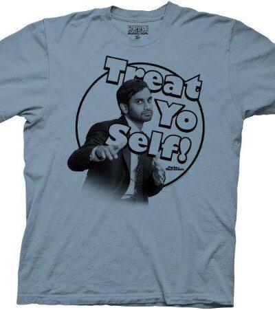 Parks & Recreation Treat Yo Self Mens T-shirt