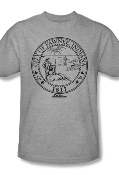 Parks and Recreation Pawnee Seal T-Shirt