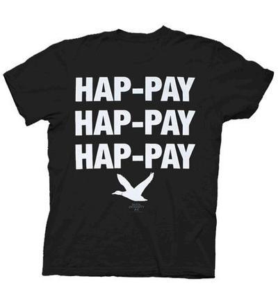 Phil Robertson Hap-pay Hap-pay Hap-pay Duck T-Shirt