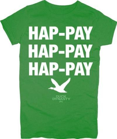 Phil Robertson Hap-pay Hap-pay Hap-pay T-Shirt