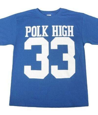 Polk High 33 Football T-shirt