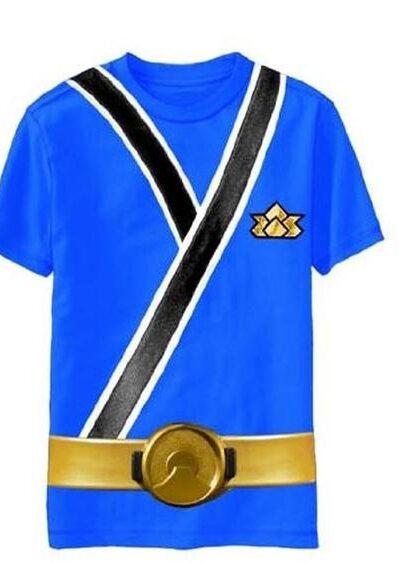 Power Rangers Blue Samurai Ranger Uniform Monster Toddler