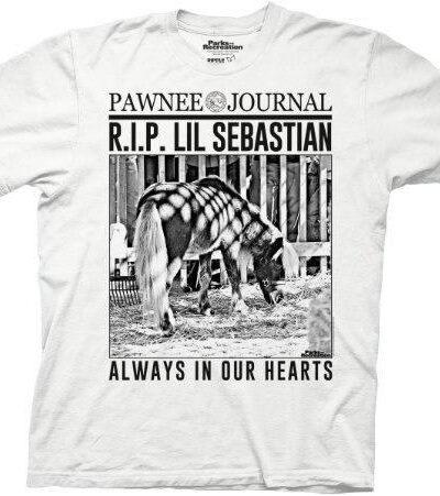RIP Lil Sebastian Pawnee Journal T-Shirt