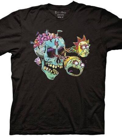 Rick and Morty As Eyeballs T-shirt