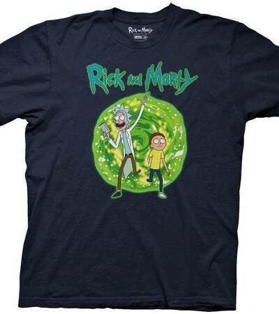 Rick and Morty Dimension Portal T-shirt