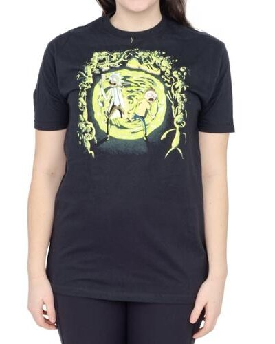 Rick and Morty Portal and Monsters T-Shirt