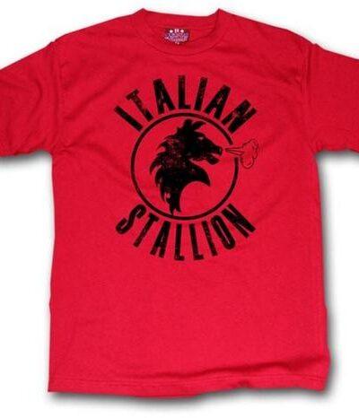 Rocky Balboa Italian Stallion Red