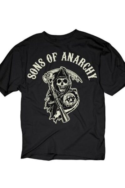 S.O.A. Beige Logo T-Shirt