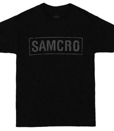 SOA SAMCRO Banner T-shirt