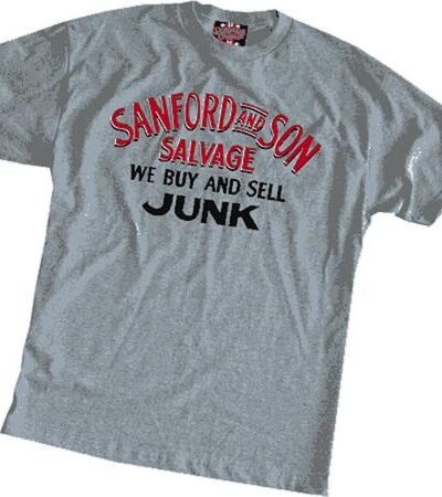 Sanford and Son We Buy and Sell Junk T-shirt