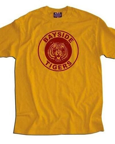 Saved By the Bell Bayside Gold Tigers T-shirt