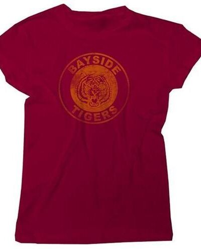Saved By the Bell Bayside Tigers Circle Tee