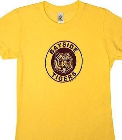 Saved By the Bell Bayside Tigers Juniors Tee