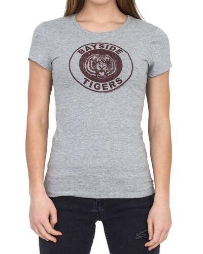 Saved By the Bell Bayside Tigers Logo Tee