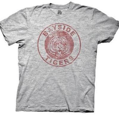 Saved By the Bell Bayside Tigers T-shirt Gray