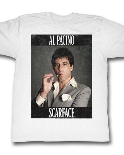 Scarface Al Pacino Smoking Cigar Framed